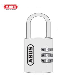 ABUS 145 Aluminium Combination Padlock 145/30-GRN-1