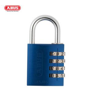 ABUS 145 Aluminium Combination Padlock 145/40-BLU-1