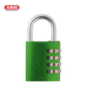 ABUS 145 Aluminium Combination Padlock 145/40-GRN-1