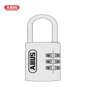 ABUS 145 Aluminium Combination Padlock 145/40-RED-1