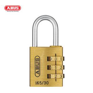 ABUS 165 Brass Combination Padlock 165/30-1