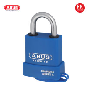 ABUS 83WPIB EWP Series Patented Padlock 83WPIB/53-1