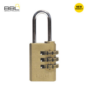 BBL Brass Combination Padlocks BBP820-3