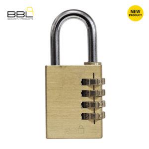 BBL Brass Combination Padlocks BBP840-4