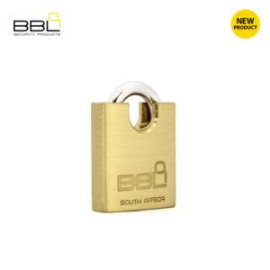 BBL Closed Shackle Brass Padlock BBP940CS-1