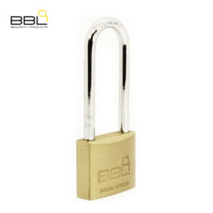 BBL Long Shackle Brass Padlock BBP940LS63-1