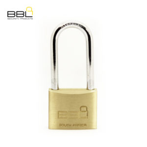 BBL Long Shackle Brass Padlock BBP950LS63-1