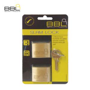 BBL Maxidor Slam Brass Padlock BBP940MXS-B2