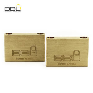 BBL Maxidor Slam Brass Padlock BBP950MXS-B2