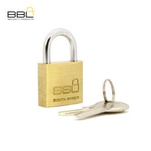 BBL Standard Brass Padlock BBP930-1