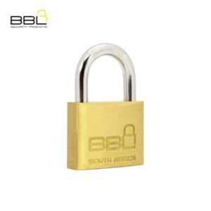 BBL Standard Brass Padlock BBP940-1