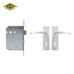 ESCO 3 Lever Nutec Mortice Lockset CZ694-24-3123CH