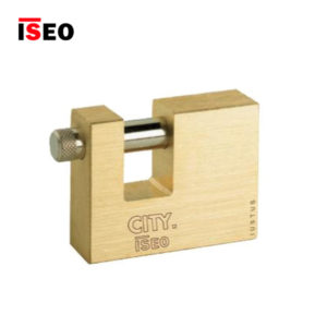 ISEO Brass Rectangular Brass Padlocks 804707