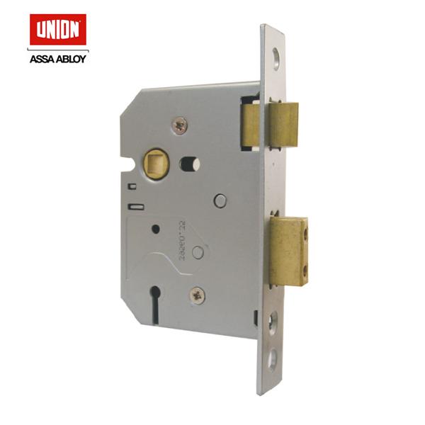 UNION 3 Lever Heavy Duty Mortice Lock 2277-64PL > BBLSA