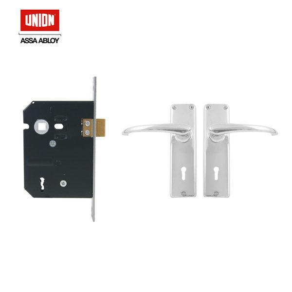 UNION 3 Lever Mortice Lockset CZ682-24-52CH > BBLSA
