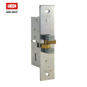 UNION 4 Lever Sliding Claw Mortice Lock 24313-40PL