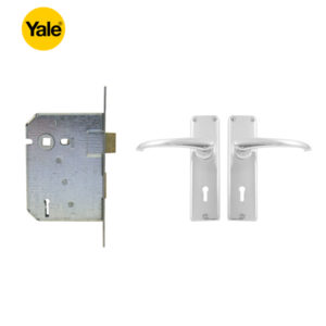 YALE 3 Lever Mortice Lockset DY6282452CH