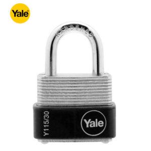 YALE Laminated Padlock Y115-30-117-1