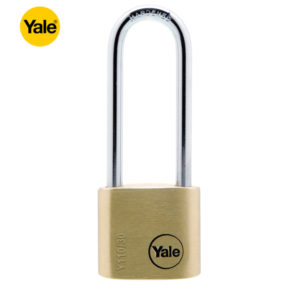 YALE Long Shackle Brass Padlock Y110-30-150-1