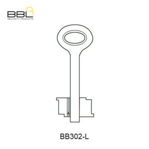 BBL Security Gate Key Blanks BB302-L