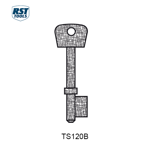 Rst Chubb Key Blanks Ts120b Bbl