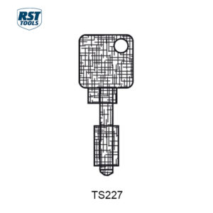 RST CHUBB Key Blanks TS120B