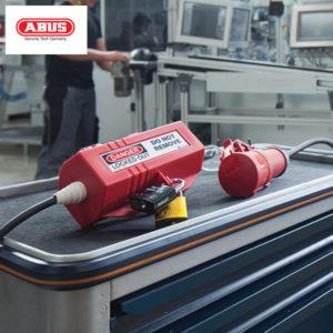 ABUS Power Plug Circuit Breaker Lockout P110