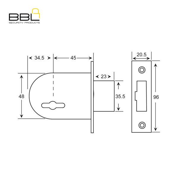 BBL-BBL700-6-Lever-Deadbolt-Gate-Lock-BBL700_B