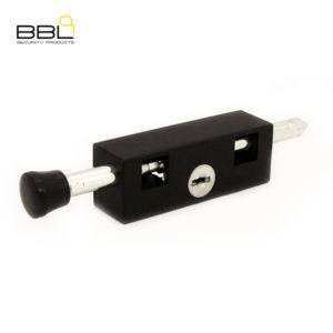 BBL Door Bolt Patio Lock BBL401BLKKA