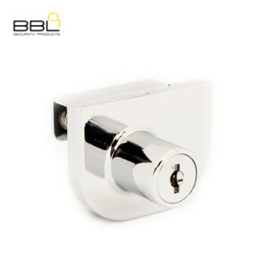 BBL Double Glass Door Cabinet Lock BBL248CP