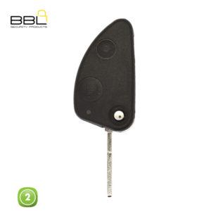 BBL Key Shells Alfa Romeo Shape 2 Button KSC-AL-01