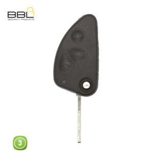 BBL Key Shells Alfa Romeo Shape 3 Button KSC-AL-02