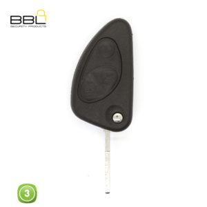 BBL Key Shells Alfa Romeo Shape 3 Button KSC-AL-07
