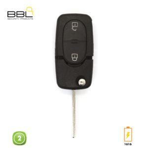 BBL Key Shells Audi Shape 2 Button KSC-AU-05