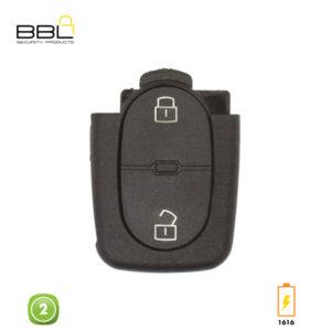 BBL Key Shells Audi Shape 2 Button KSC-AU-14