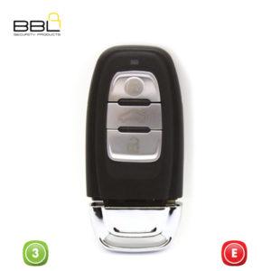 BBL Key Shells Audi Shape 3 Button KSC-AU-31C