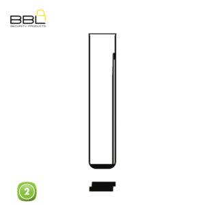 BBL Key Shells BMW Shape 2 Button KSC-BM-15