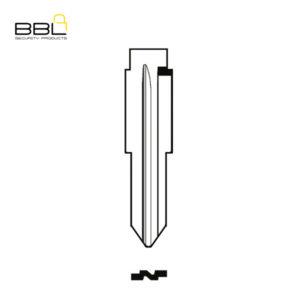 BBL Key Shells Chevrolet Shape 0 Button KSC-CHEV-01A