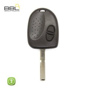 BBL Key Shells Chevrolet Shape 2 Button KSC-CHEV-07D