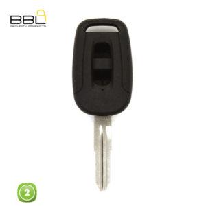 BBL Key Shells Chevrolet Shape 2 Button KSC-CHEV-19