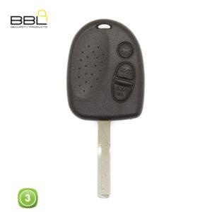 BBL Key Shells Chevrolet Shape 3 Button KSC-CHEV-07B