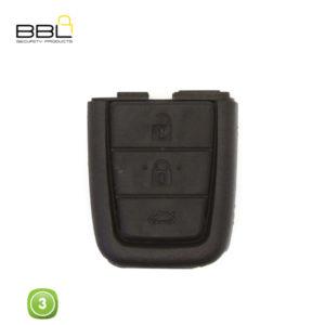 BBL Key Shells Chevrolet Shape 3 Button KSC-CHEV-20B