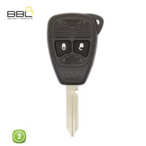 BBL Key Shells Chrysler Shape 2 Button KSC-CHRY-08