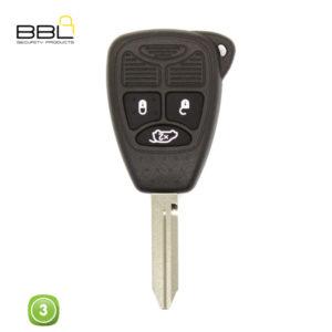 BBL Key Shells Chrysler Shape 3 Button KSC-CHRY-10B