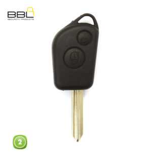 BBL Key Shells Citroen Shape 2 Button KSC-CIT-22