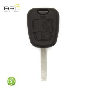 BBL Key Shells Citroen Shape 2 Button KSC-CIT-30B