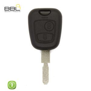 BBL Key Shells Citroen Shape 2 Button KSC-CIT-31B