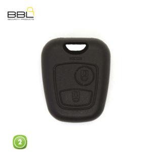 BBL Key Shells Citroen Shape 2 Button KSC-CIT-34D