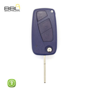 BBL Key Shells Fiat Shape 2 Button KSC-FI-13B1