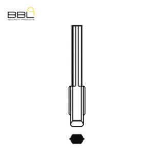 BBL Key Shells Ford Shape 0 Button KSC-FO-13A